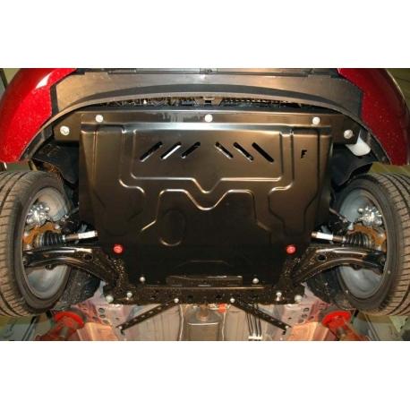 Ford Fiesta VI Motor und Getriebeschutz 1.4TDI - Stahl