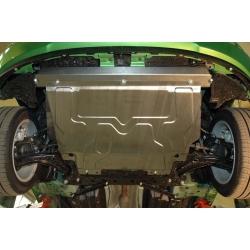 Mazda 2 Motorschutz 1.3, 1.4D, 1.5 - Alluminium