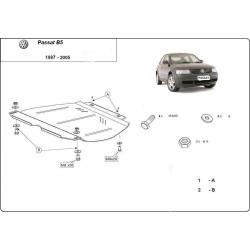VW Passat Getriebeschutz B5, B6 V5, 2.3, 1.6, 1.8, 1.9TDi - Stahl