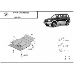 Suzuki Grand Vitara Unterfahrschutz 1.6, 1.9, 2.0, 2.4 - Stahl