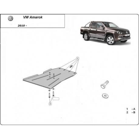 VW Amarok Unterfahrschutz 2.0, 2.2, 2.5TDi 4x4 - Stahl