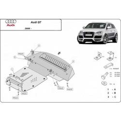 Audi Q7 Unterfahrschutz 3.0, 4.2TDI - Stahl