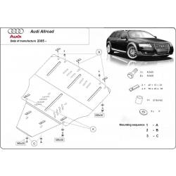 Audi Allroad II Unterfahrschutz - Stahl