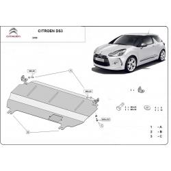 Citroen DS3 Unterfahrschutz - Stahl
