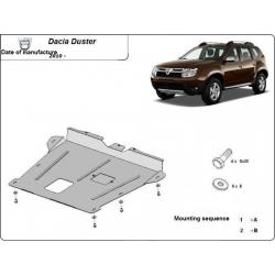 Dacia Duster Unterfahrschutz - Stahl
