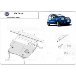 Fiat Panda Unterfahrschutz 1.2 - Stahl