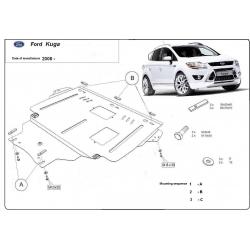 Ford Kuga Unterfahrschutz 2.0D - Stahl
