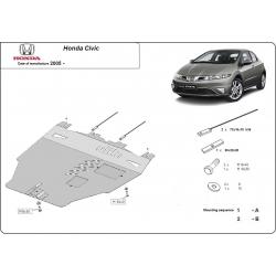 Honda Civic Unterfahrschutz 1.8 - Stahl