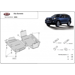 Kia Sorento Unterfahrschutz 2.5 CRDi, 3.3 V6 - Stahl