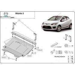 Mazda 2 Unterfahrschutz 1.3, 1.4, 1.5, 1.6, 2.0 - Stahl