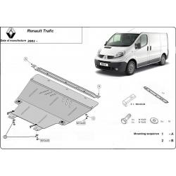 Renault Trafic Unterfahrschutz 1.9D, 2.0, 2.5D - Stahl