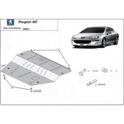 Peugeot 407 Unterfahrschutz 1.6, 1.8, 2.0HDi - Stahl