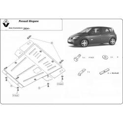 Renault Megane Unterfahrschutz D - Stahl