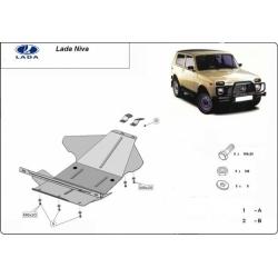 Lada Niva Unterfahrschutz - Stahl