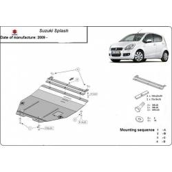Suzuki Splash Unterfahrschutz 1.1, 1.3, 1.5TDi - Stahl