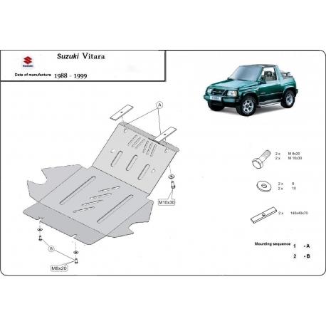 Suzuki Vitara Unterfahrschutz - Stahl