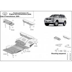 Toyota Land Cruiser 120 Unterfahrschutz 3.0D, 4.2D - Stahl