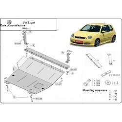 VW Lupo Unterfahrschutz - Stahl