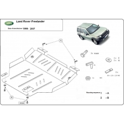 Land Rover Freelander Unterfahrschutz - Stahl