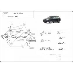 Audi Allroad Unterfahrschutz - Stahl
