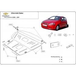 Chevrolet Kalos Unterfahrschutz - Stahl