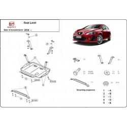 Seat Leon Unterfahrschutz 1.8, 2.0, 1.9TD - Stahl