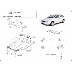 VW Polo Classic Unterfahrschutz 1.4, 1.6 - Stahl