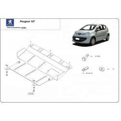 Peugeot 107 Unterfahrschutz 1.0, 1.4HDi - Stahl