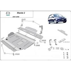 Mazda 2 Unterfahrschutz - Stahl