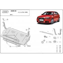 Audi A3 Unterfahrschutz 1.2, 1.4 Tsi, 1.6 Tdi - Stahl