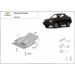 Chevrolet Tracker Unterfahrschutz - Stahl