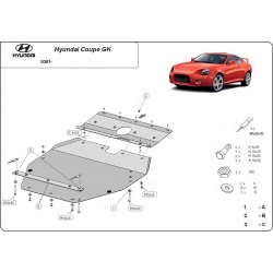 Hyundai Coupe GK Unterfahrschutz - Stahl