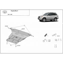 Toyota Rav4 Unterfahrschutz 1.8, B, 2.0, 2.4, Tdi - Stahl