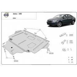 Volvo V50 Unterfahrschutz - Stahl