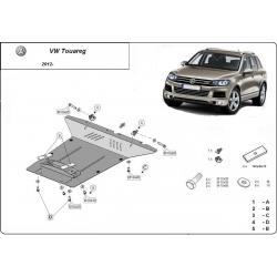 VW Touareg Unterfahrschutz 2.0, 2.5 Tdi,3.0 Tdi ,3.2 V6 - Stahl