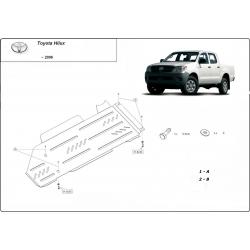 Toyota Hilux I (Schutz für Differential und Schaltgetriebeschutz) - Stahl