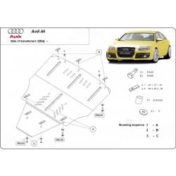 Audi A6 Unterfahrschutz - Stahl