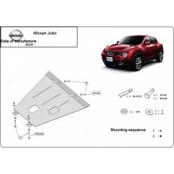 Nissan Juke Unterfahrschutz 1.6, 1.5DCI - Stahl