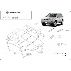 Nissan X-Trail Unterfahrschutz 2.0, 2.2, 2.4TDi - Stahl