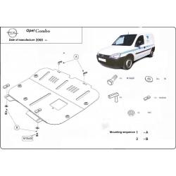 Opel Combo Unterfahrschutz 1.3 - Stahl
