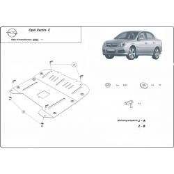 Opel Vectra C Unterfahrschutz - Stahl