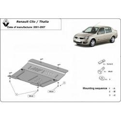 Renault Clio/Thalia Unterfahrschutz 1.4, 1.5Dci, 1.8D, 1.9DTi - Stahl