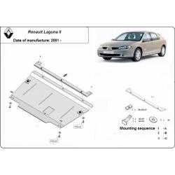 Renault Laguna II Unterfahrschutz 1.6, 1.8, 1.9dCi, 2.0dCi, 2.2dCi, 3.0V6 - Stahl