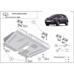 Toyota Urban Cruiser Unterfahrschutz - Stahl