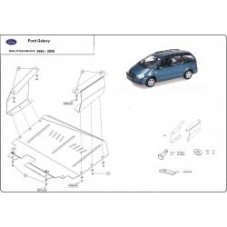 Ford Galaxy Unterfahrschutz - Stahl