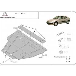 Xsara Unterfahrschutz 1.8, 1.9D, 1.9TD, 2.0HDi, 2.3JTD, 2.5TD - Stahl
