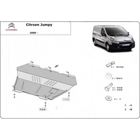 Citroen Jumpy Unterfahrschutz 1.8HDi, 1.9TD, 2.0HDi - Stahl