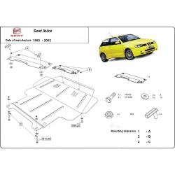 Seat Ibiza Unterfahrschutz 1.0, 2.0 - Stahl