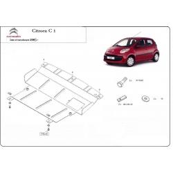 Citroen C1 Unterfahrschutz 1.0, 1.4HDi - Stahl