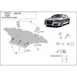 Audi A5 Unterfahrschutz 1.8, 2.0 TFSI quattro, 2.0TDi - Stahl